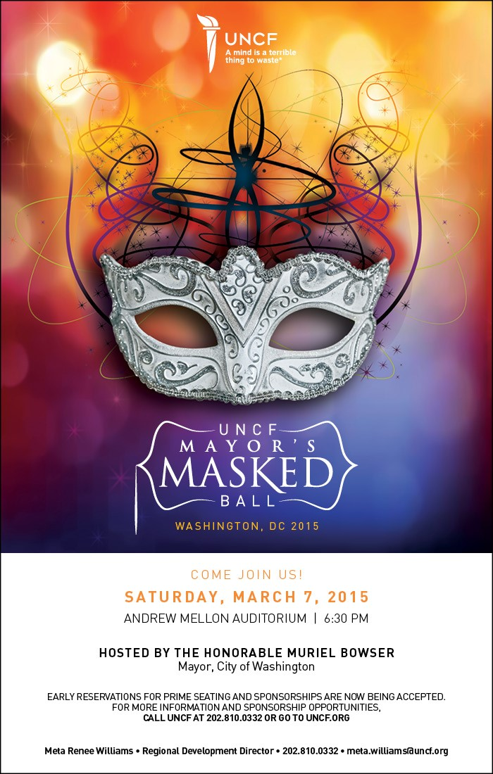 UNCF Mayor's Masked Ball @ Andrew Mellon Auditorium | Washington | District of Columbia | United States