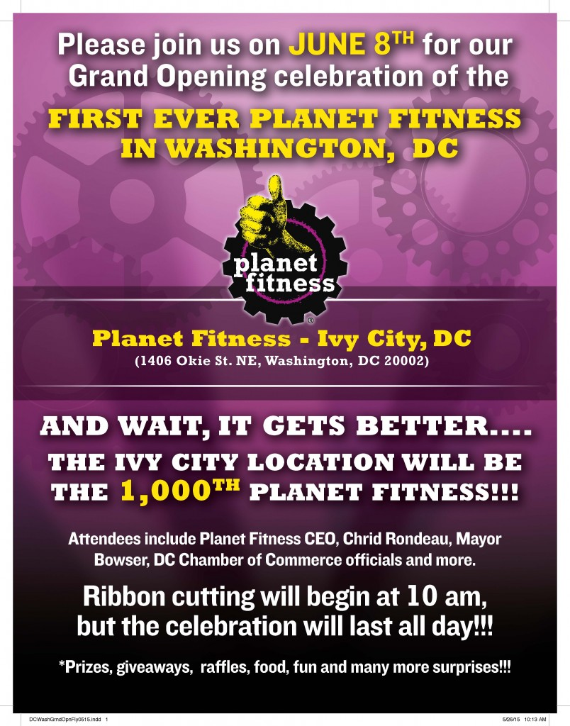 Planet Fitness Grand Opening @ Planet Fitness | Washington | District of Columbia | United States