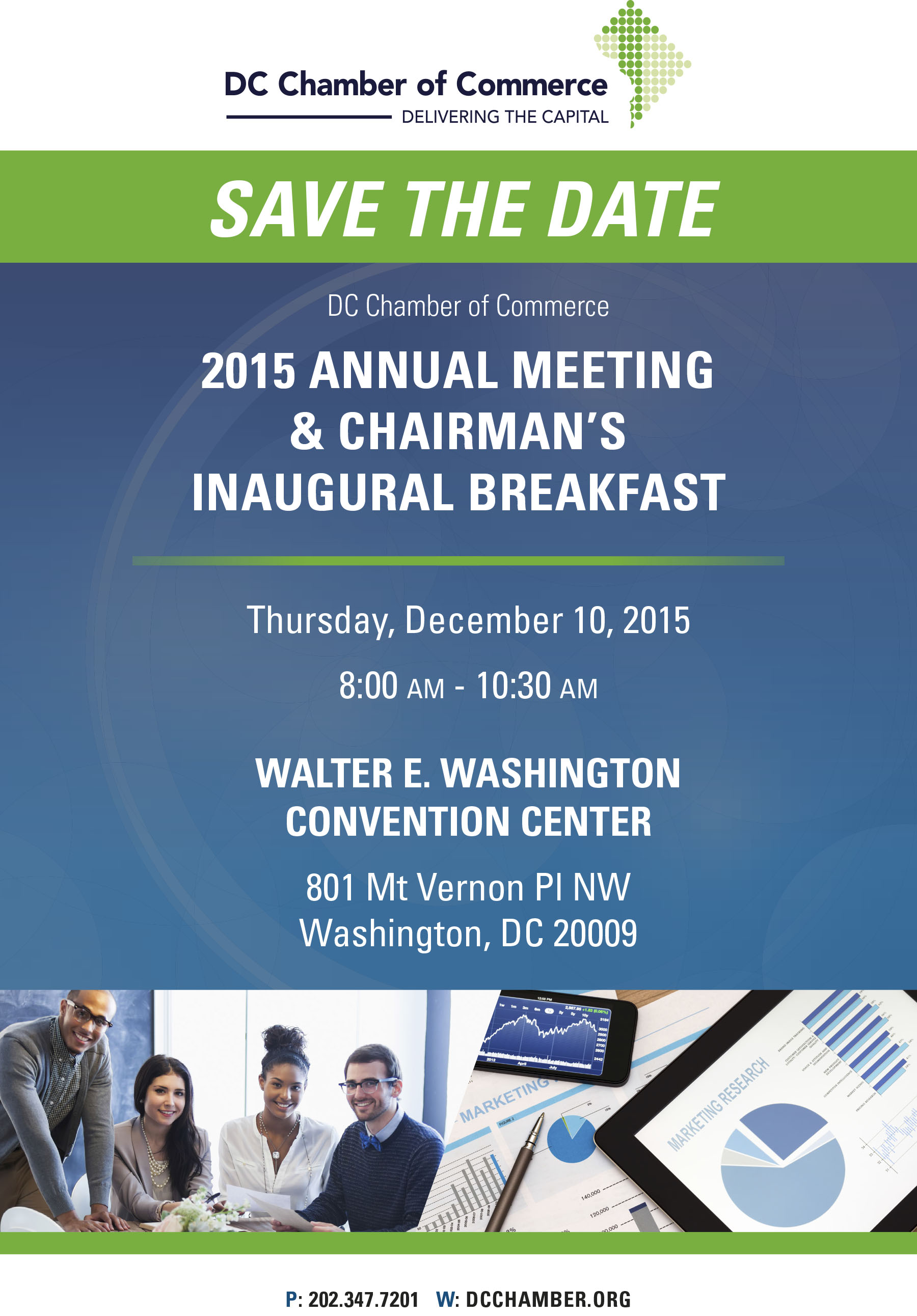 2015 Annual Meeting & Chairman's Inaugural Breakfast @ Walter E. Washington Convention Center | Washington | District of Columbia | United States