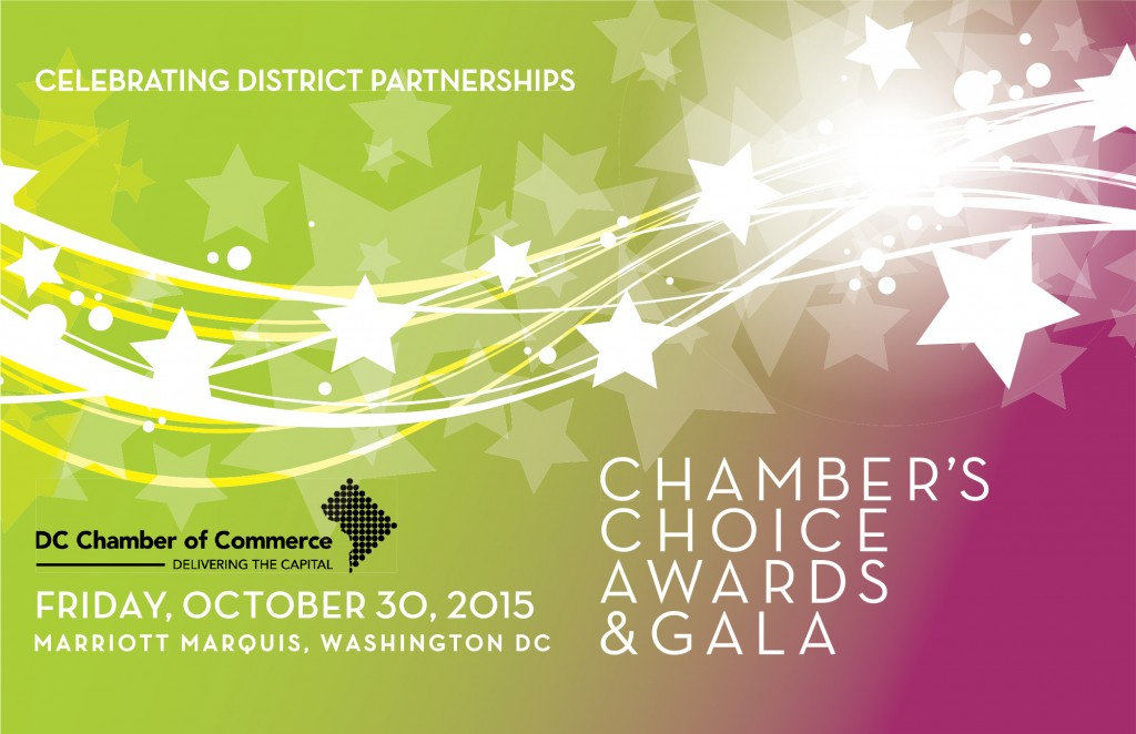 2015 Chamber's Choice Awards & Gala @ Marriott Marquis | Washington | District of Columbia | United States