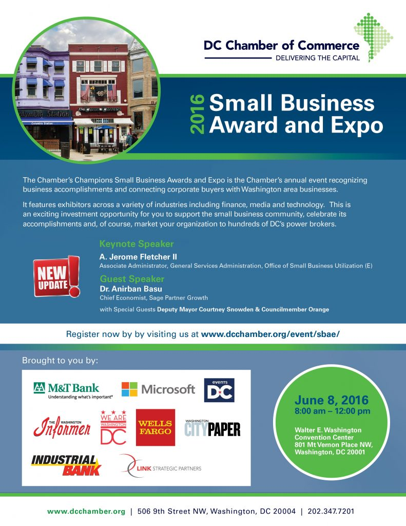 Small Business Awards & Expo @ Walter E. Convention Center | Washington | District of Columbia | United States
