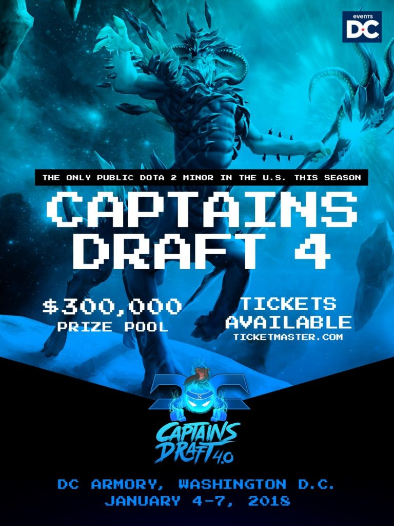 Events DC Partners with Moonduck Studios to Host First-Ever Esports Tournament, Captains Draft 4.0 @ DC Armory | Washington | District of Columbia | United States